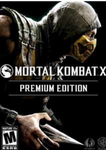 Mortal Kombat X Premium Edition (Steam) für 3,32€ (CDKeys)