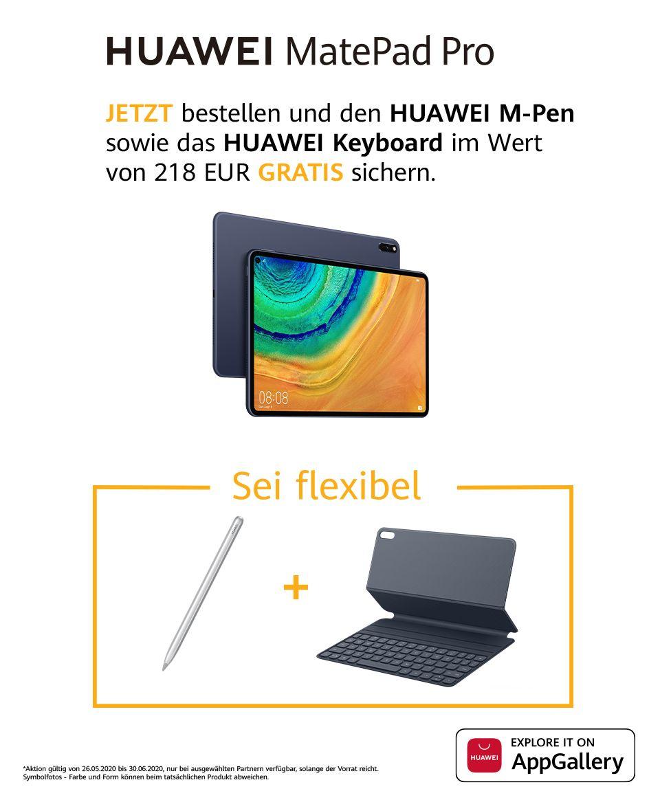 Huawei Matepad pro inkl. Tastatur Cover und M-Pen (Österreich)
