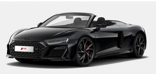[Gewerbeleasing] Audi R8 Spyder RWD Black & White Edition (540 PS) eff. mtl. 1.106,20€, LF 0,66, GF 0,73, 48 Monate, 10.000km p.a.
