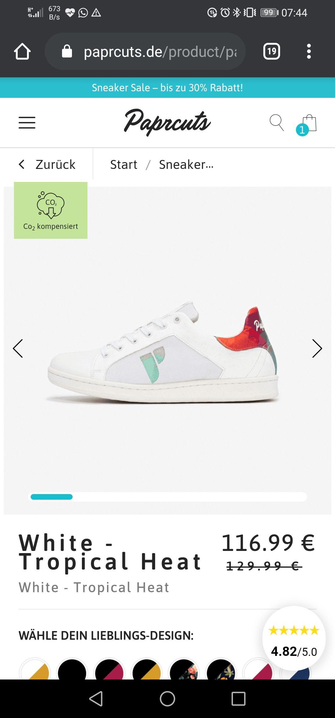 Paprcuts Sneaker-Sale - bis zu 30%