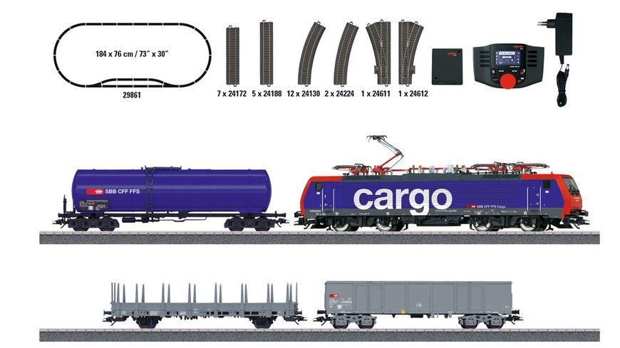 """Märklin (29861) Digital-Startpackung """"Schweizer Güterzug"""""""