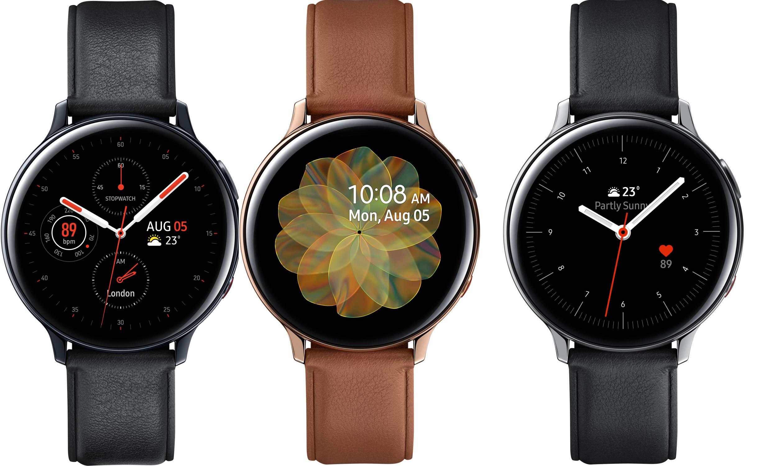 Samsung Galaxy Watch Active 2 LTE R825 Edelstahl 44mm in silber, gold oder schwarz