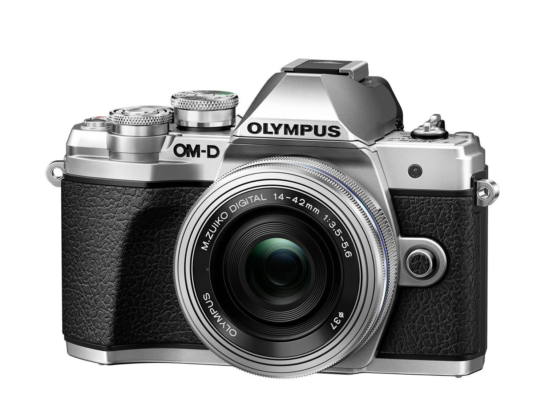 Olympus OM-D E-M10 III+ED 3,5-5,6/14-42 mm EZ silber Kamera-Kit