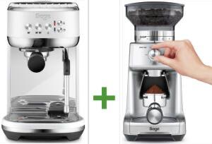 Sage Appliances SES500SST Bambino Plus Siebträgermaschine + Sage The Dose Control SCG600 Kaffeemühle für zusammen 299€ inkl. Versandkosten