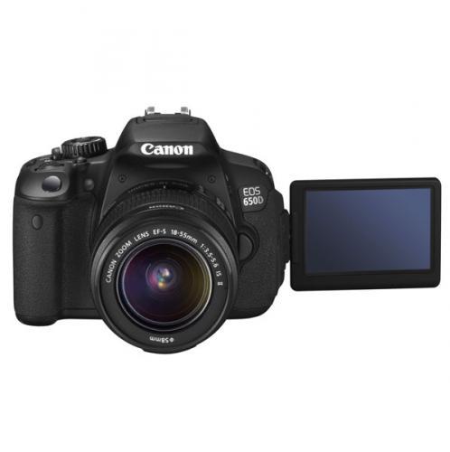 [MeinPaket] Canon Spiegelreflexkamera EOS 650 D + EF-S 18-55 IS II, 18MP, Original, NEU