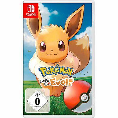 Pokémon: Let's Go, Evoli (Nintendo Switch) [eBay Mediamarkt per VISA Zahlung]