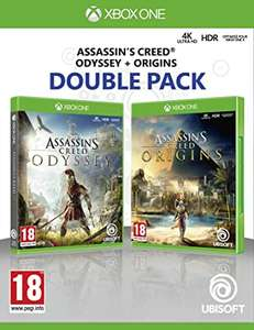 Assassin's Creed: Odyssey + Assassin's Creed: Origins Doppelpack (Xbox One) für 33,81€ (Amazon FR)