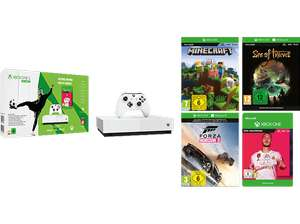 [Saturn] Xbox One S All Digital Edition inkl. 4 Spielen