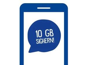 10GB Datenvolumen einmalig für ja! mobil Kunden durch App-Erstnutzung