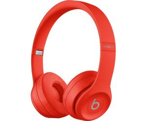 BEATS Solo 3 Wireless Rot - Bluetooth On-ear-Kopfhörer (40 Std. Laufzeit, Headset- und Schnellladefunktion)