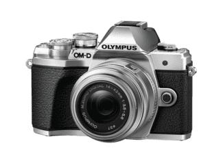 OLYMPUS OM-D E-M10 Mark III Systemkamera Kit mit Objektiv 14-42 mm