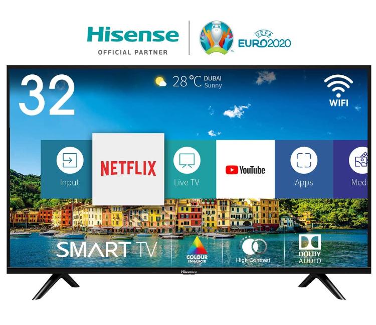 Hisense H32BE5500 80 cm (32 Zoll) Fernseher (HD, Triple Tuner, Smart-TV) - Amazon