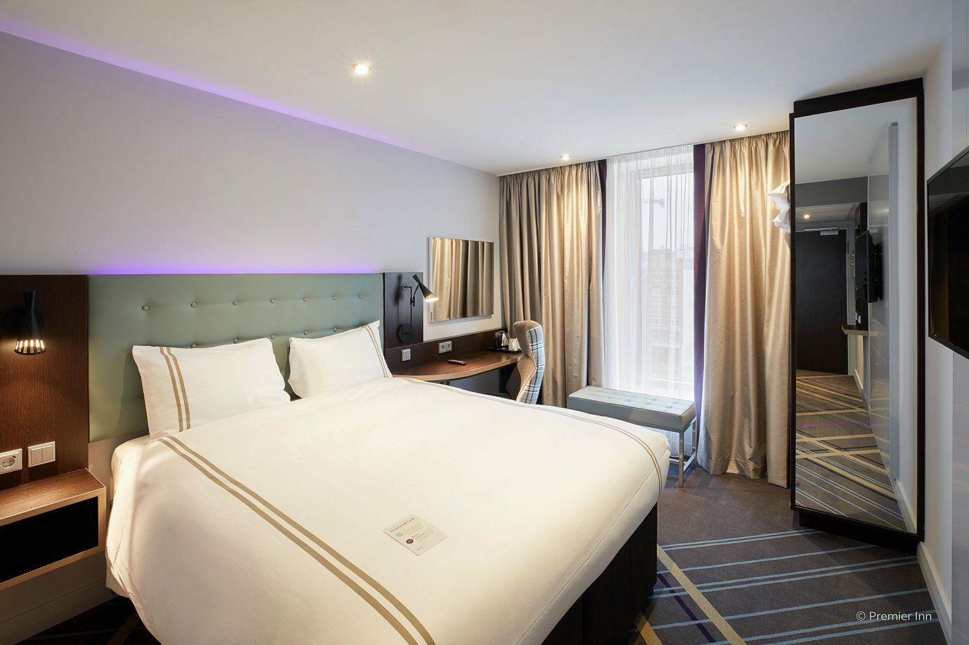 Alle Premier Inn Hotels für 40€/Nacht vollflexibel
