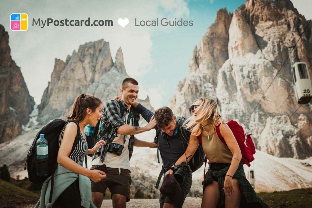Local Guides + MyPostcard.com: Eine kostenlose Postkarte verschicken.