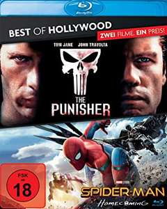 The Punisher & Spider-Man: Homecoming (2x Blu-ray) für 6,29€ (Amazon Prime)