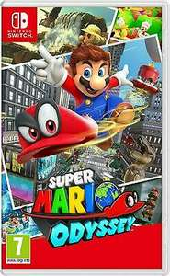 Super Mario Odyssey (Switch) für 40,49€ (Ebay)