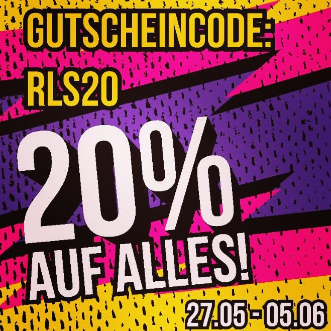 Releasehiphop.de : 20% Aktion (Nike, Alphaindustries, Ellesse, Newera, Yakuza ...)