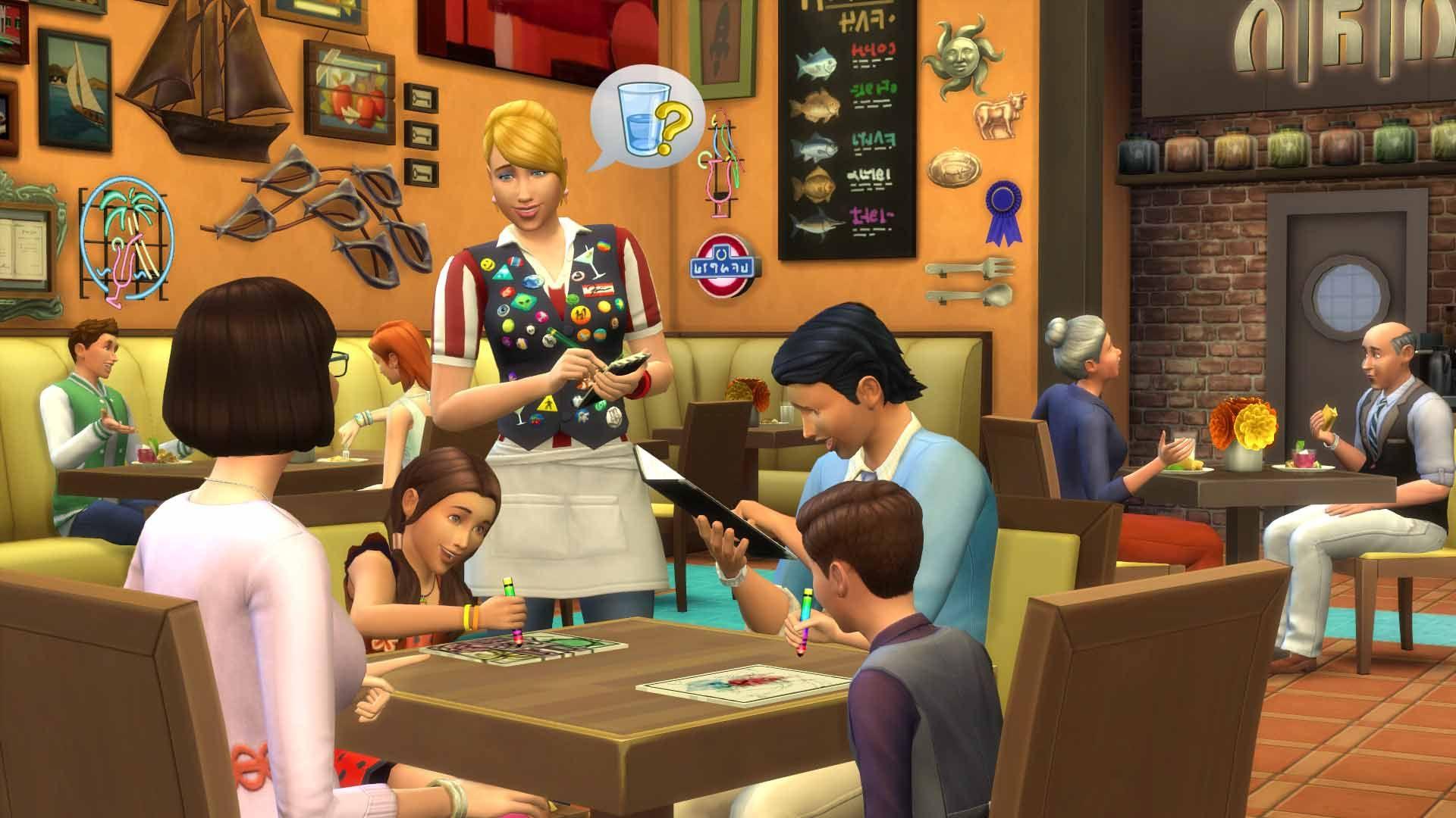 Die Sims 4 Gaumenfreuden + Elternfreuden Gamepack DLC (Origin Access, PC + Mac)