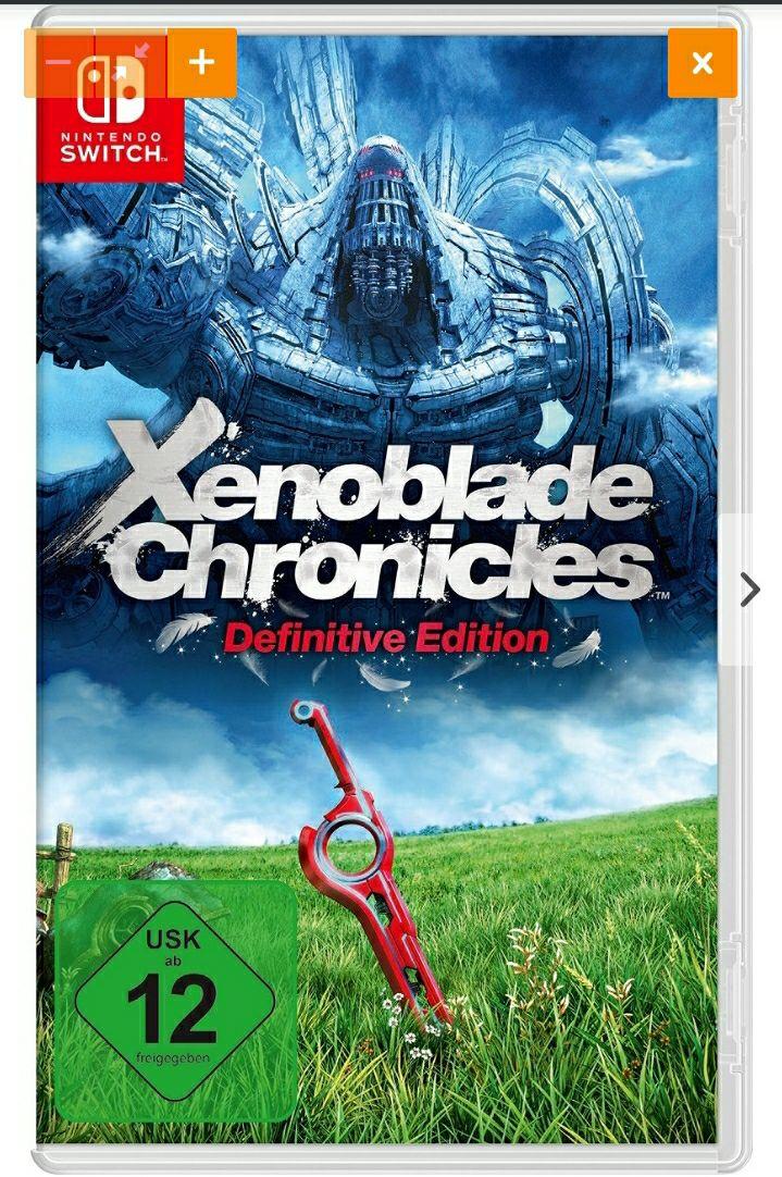 Xenoblade Chronicles Definitive Edition für 49,95€   idealo.de   Shoop möglich