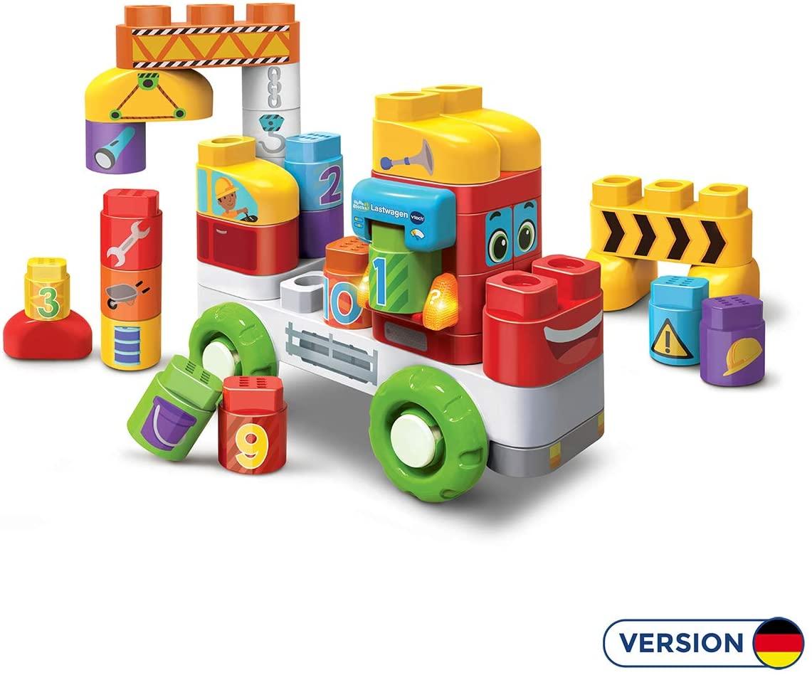 Vtech BlaBlaBlocks - Lastwagen Bauklötze Bauspielzeug für 16€ (Amazon Prime & Müller Abholung)