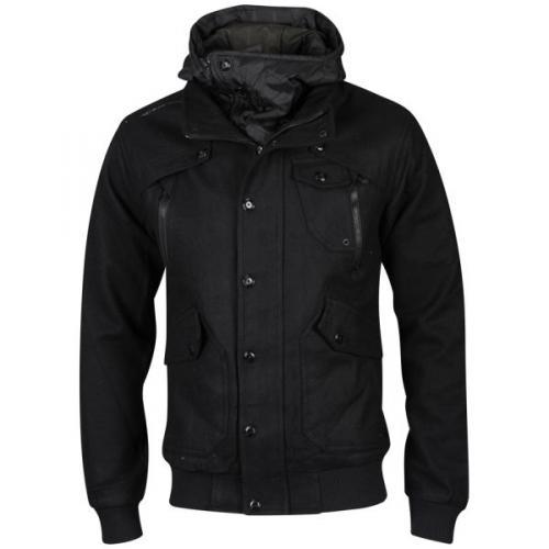 [thehut]   Bravesoul Men's Syndromewool Hooded Jacket für 27,16€ inkl. Versand