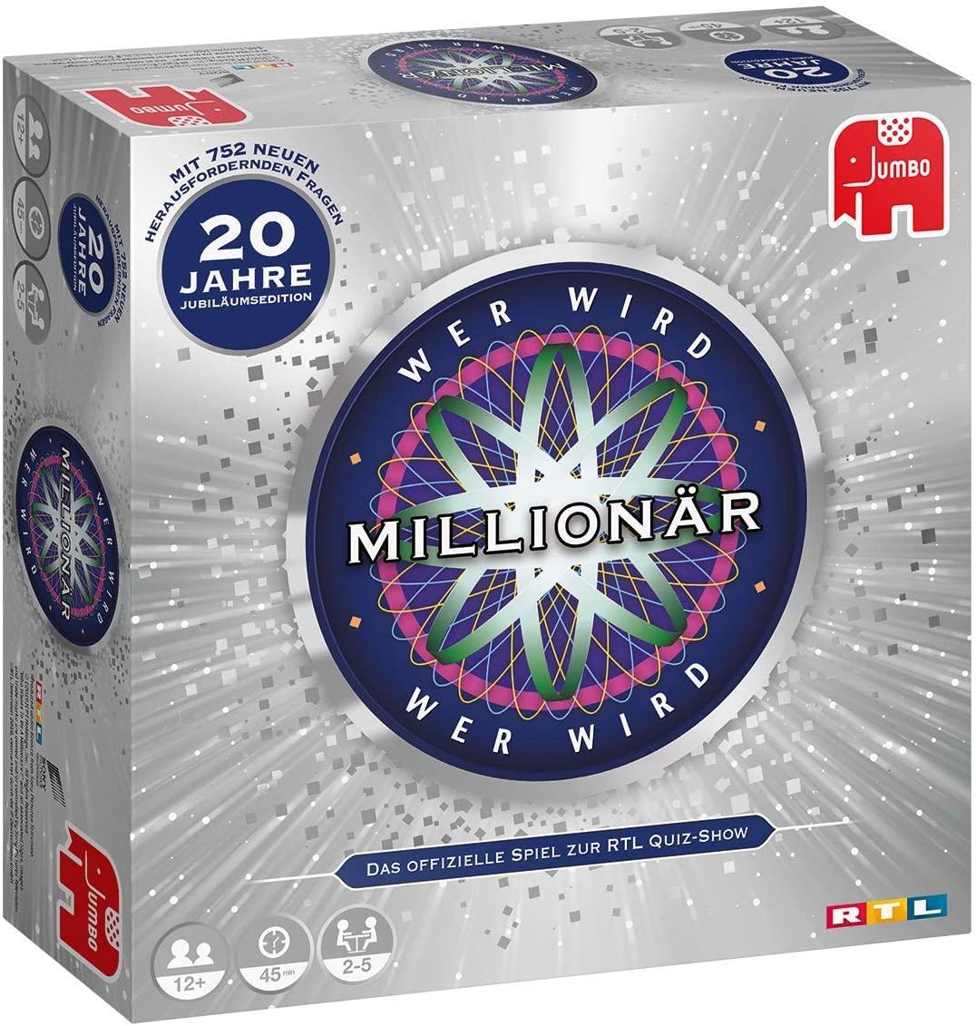 Wer Wird Millionär - 20 Jahre Jubiläumsedition für 15,99€ (Amazon Prime & Müller Abholung)