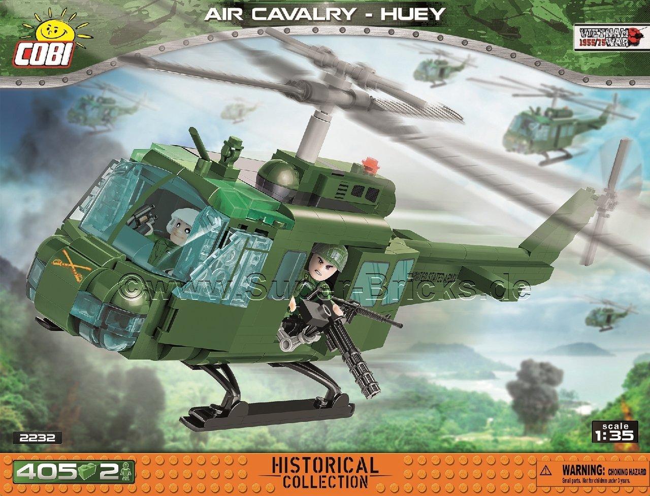 [Klemmbausteine] COBI AIR CAVALRY-HUEY, Helikopter (2232) @ powernetshop.de