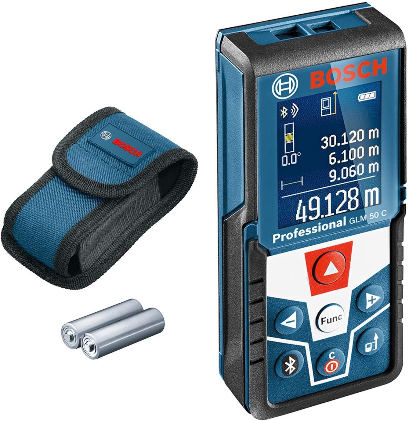 Entfernungsmesser Bosch GLM 50 C Dank TPG (76,96€ möglich)
