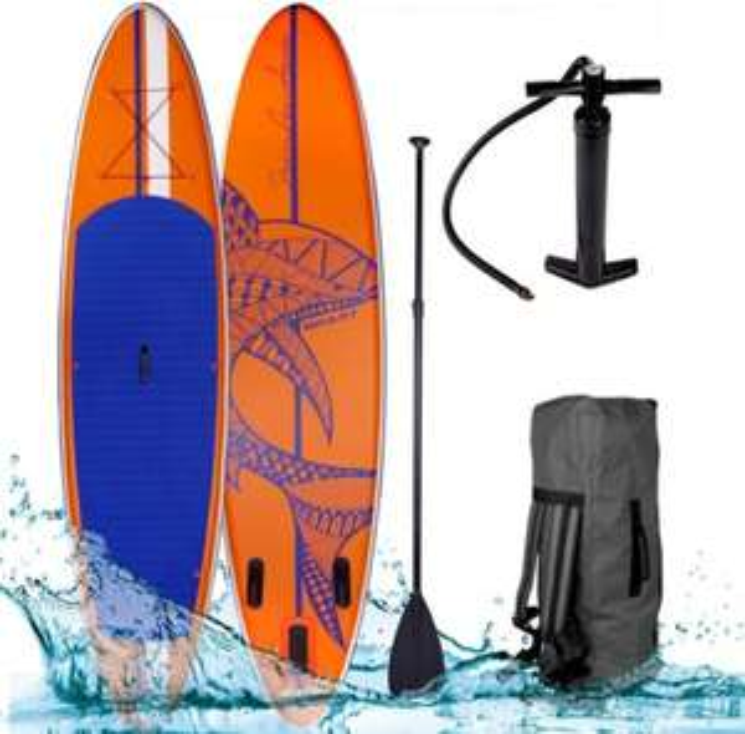 Brast SUP Board aufblasbar SHARK 320 orange