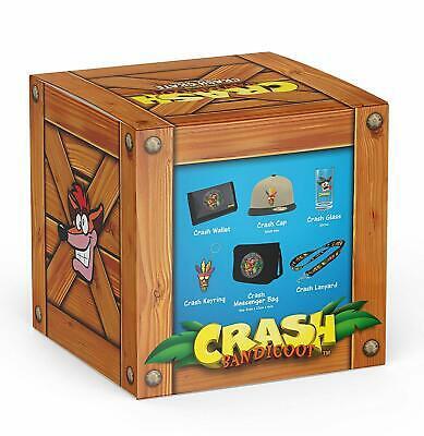 "Fanbox ""Crash Bandicoot"" u.a Crash Bandicoot Kappe + Glas + Messenger Bag uvm. für 11,61€ (eBay)"
