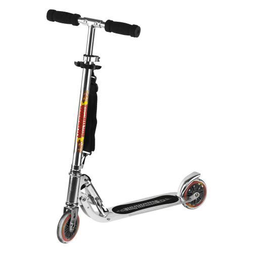 Hudora 14600 - Big Wheel Skate-Roller, silber