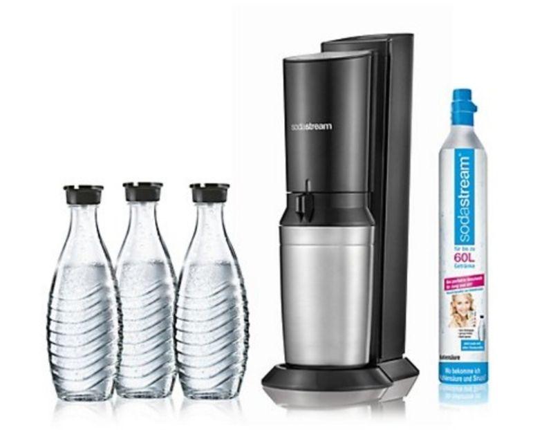 Sodastream Crystal + 3 Karaffen/ extra 850°P Payback (Neukunden)