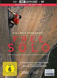 Free Solo - Limited Collector s Edition Mediabook (4K Bluray + Blu-ray + DVD) (Prime)