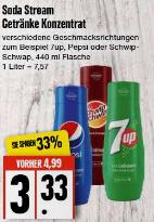 [Edeka Nord] Pepsi, 7UP, SchwipSchwap Soda Stream Sirup