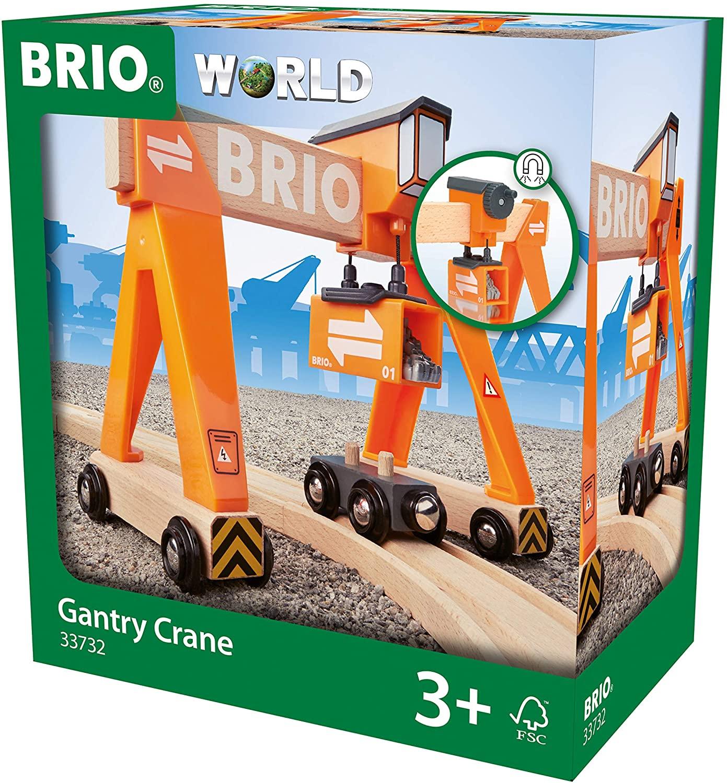 BRIO World - Container-Verladekran für 14,99€ (Amazon Prime & Galeria Kaufhof)
