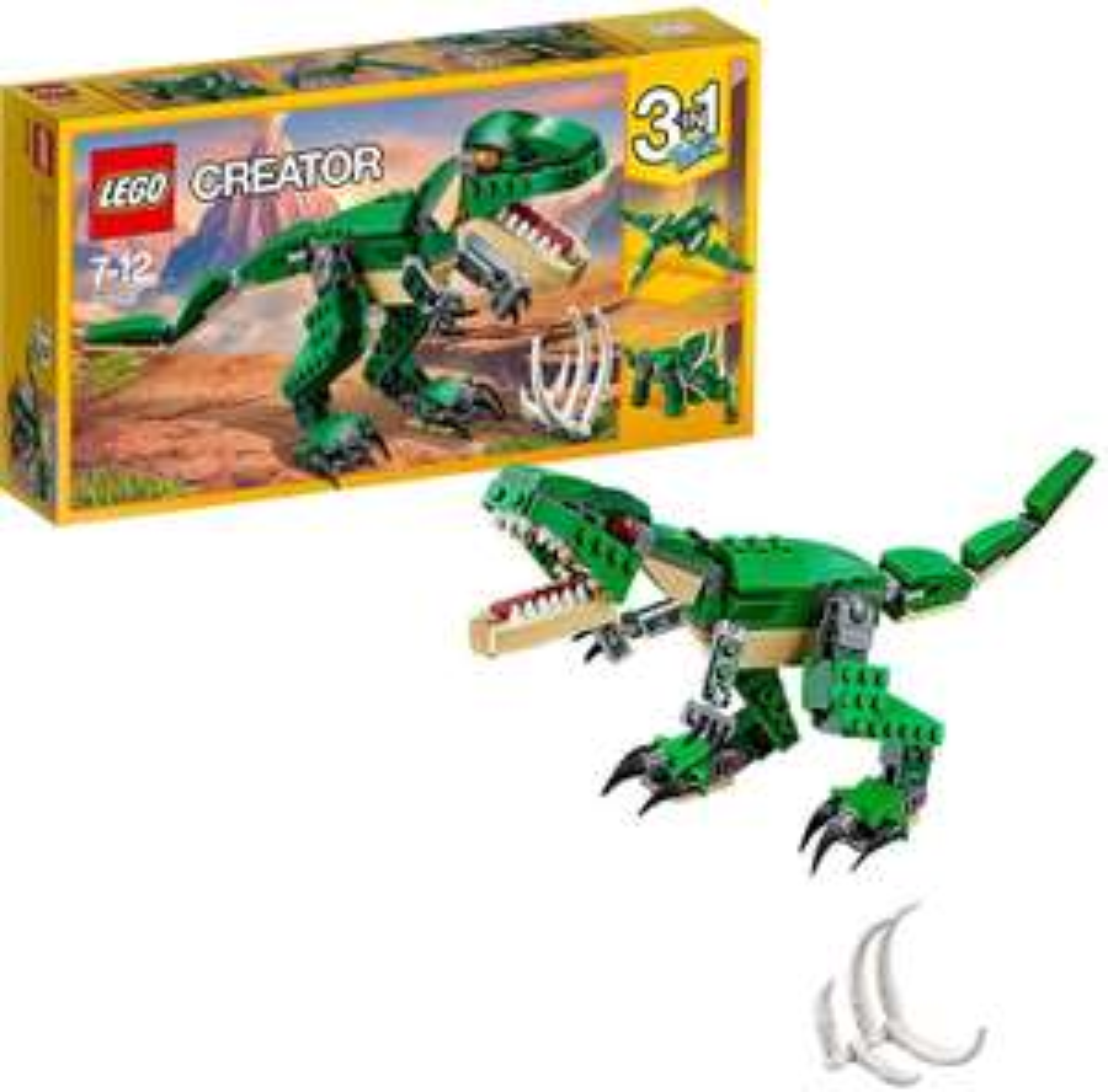 [Amazon Prime] LEGO Creator 31058 - Dinosaurier, 3-in-1 für 9,99€