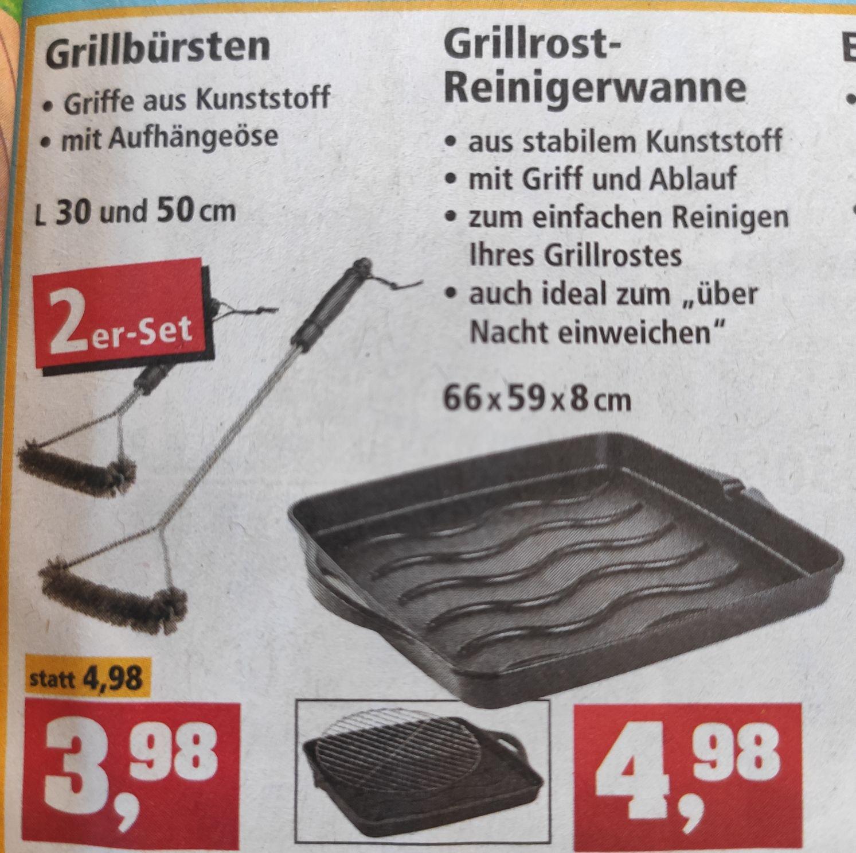 Grillrost Reinigungswanne *lokal* Thomas Philips