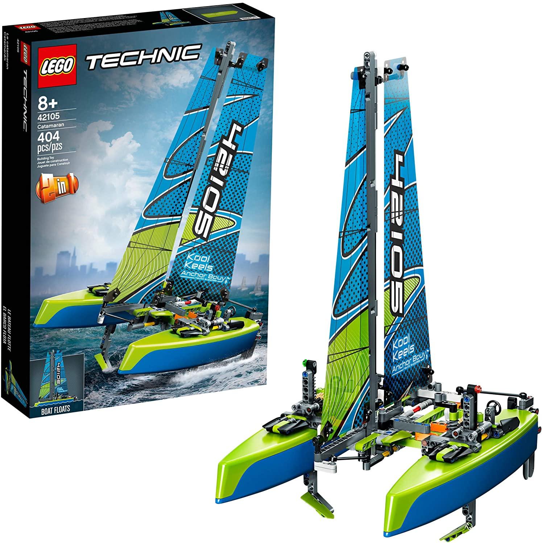 LEGO Technic - 2 in 1 Katamaran (42105) für 31,99€ (Müller Abholung)