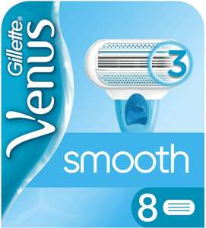 (Prime) Gillette Venus Smooth Ersatzklingen, 8 Stück im ersten Sparabo sogar nur 6,80€