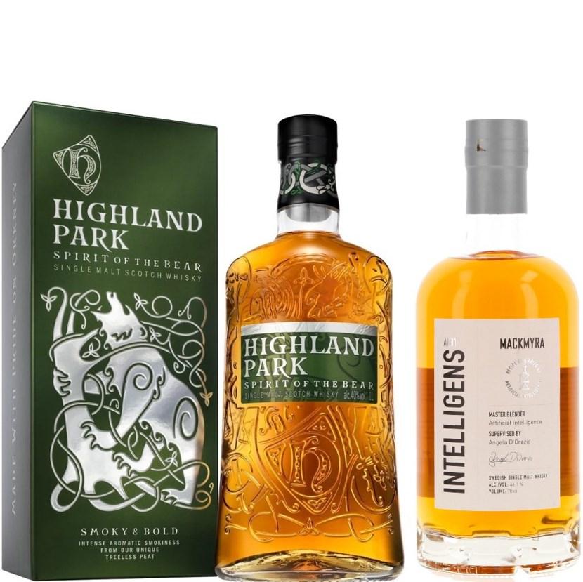 Whisky-Übersicht #30: z.B. Highland Park Spirit of the Bear Single Malt Scotch Whisky 40% vol. (1 l) für 34,90€
