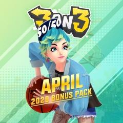 (PSN/PS+) 3on3 FreeStyle - PlayStation®Plus Bonus Pack - April & Mai 2020