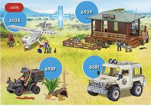 Playmobil Bundle Rangerstation für 55,99 Euro