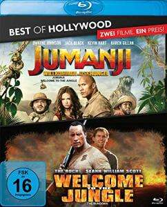 Jumanji: Willkommen im Dschungel + Welcome to the Jungle Best of Hollywood Collection (2 Disc Blu-ray) für 6,29€ (Müller Abholung)