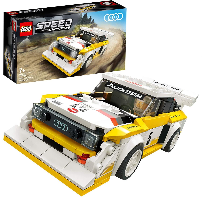 LEGO® 76897 1985 Audi Sport quattro S1 V29 Speed Champions für 14.10€ (Prime) [Amazon]