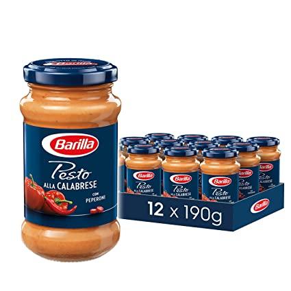 Barilla Pesto Calabrese (inkl. 15% Sparabo Angebot für Primemitglieder – dann 1,69 € je Glas)