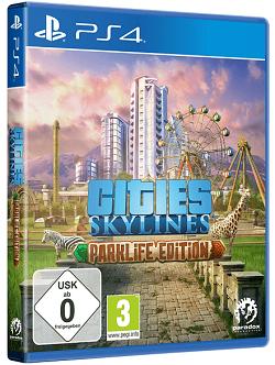 Cities Skylines: Parklife Edition Hauptspiel + Parklife & After Dark (PS4) (Prime)
