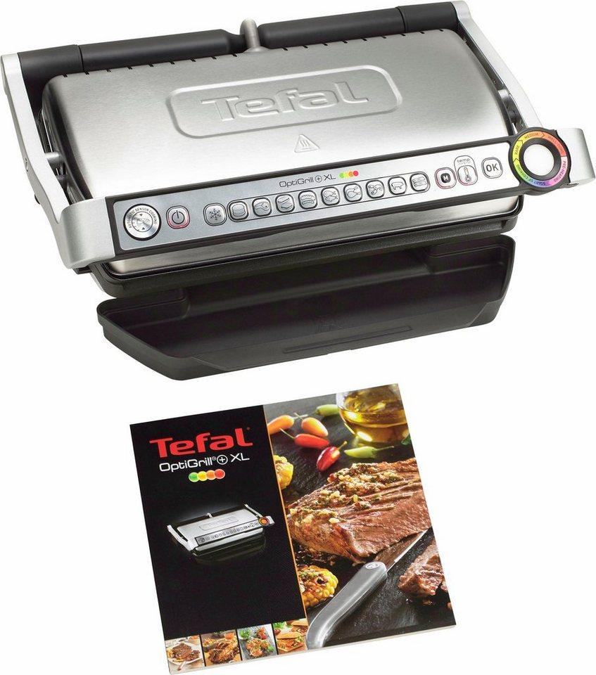 Tefal Kontaktgrill GC722D OptiGrill+ XL, 2000 W