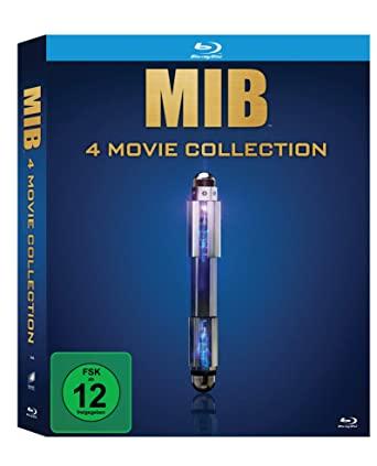 Men in Black: 4 Movie Collection (4 Blu-ray) (Amazon Prime)