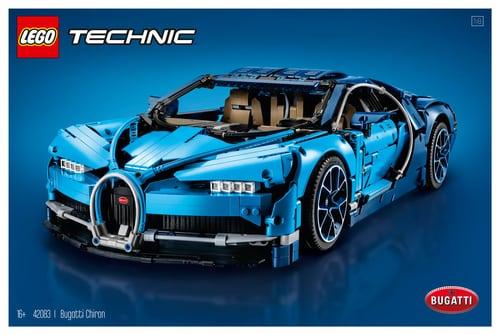Schweiz-Grenzgänger: Lego Technic sets z.B. 42082 und 402083