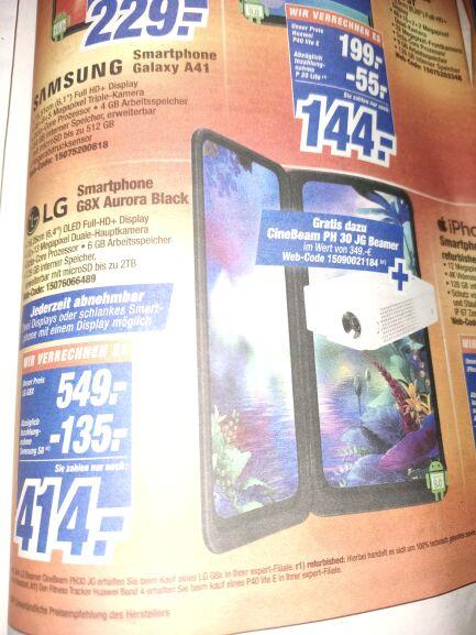 [Lokal] (Expert) LG G8X + LG PH30JG Beamer im Bundle für 549€